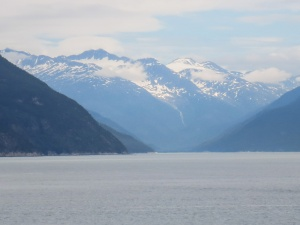 On the Ferry from Skagway to Haines
