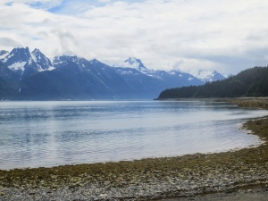 Ocean waters at Haines